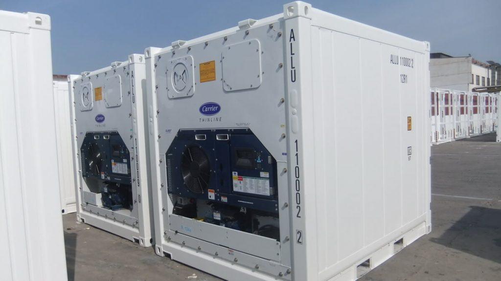 Netbox: Container frigorifique ou Reefer 10 pieds
