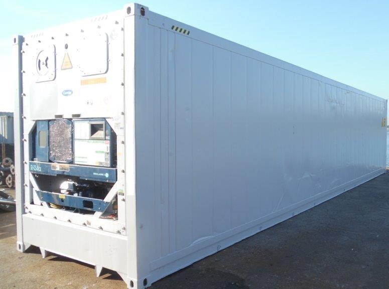 Netbox: Container frigorifique ou Reefer 45 pieds HC