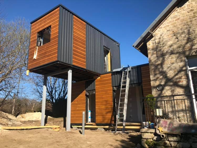 green habitat extension maison
