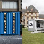 Les surfaces de vente en containers maritimes