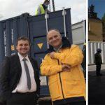 Container solidaire : un centre d'hébergement en containers signé LVD Energie