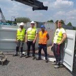 L'entreprise d'insertion A.D.V se lance dans les piscines en container
