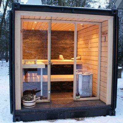 sauna-container